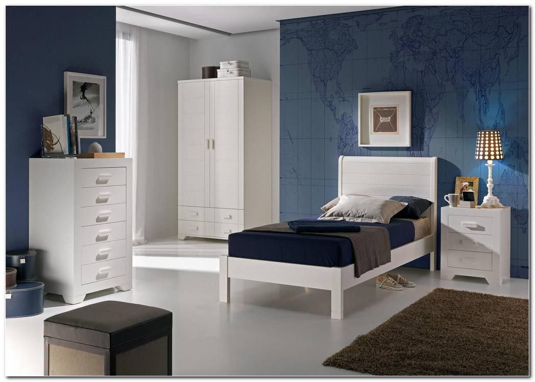 Dormitorio Moderno Lacado Blanco