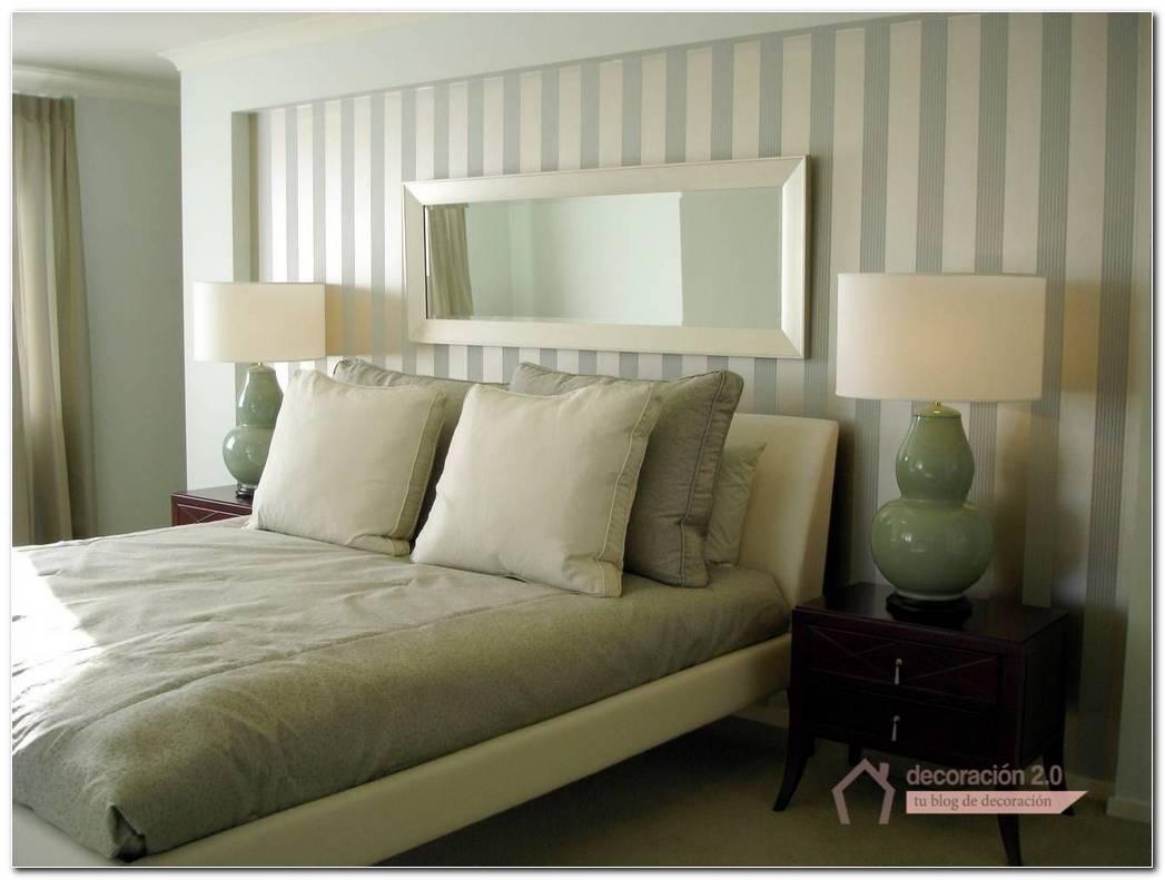 Dormitorio Papel Pintado Rayas