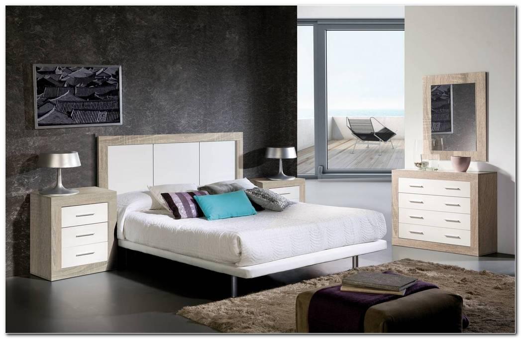 Dormitorio Roble Y Blanco