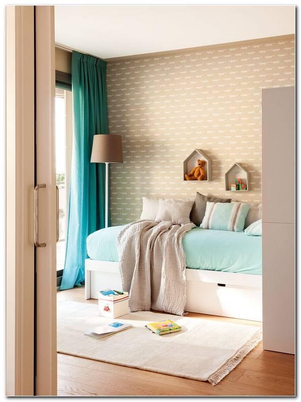 Dormitorio Turquesa Y Beige