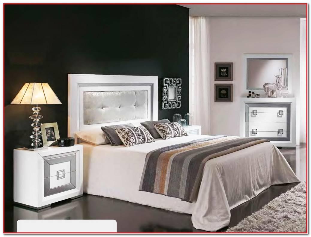 Dormitorio Wengue Y Plata