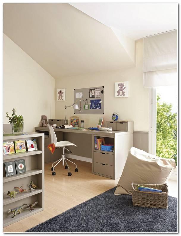 Dormitorio Y Estudio Juntos