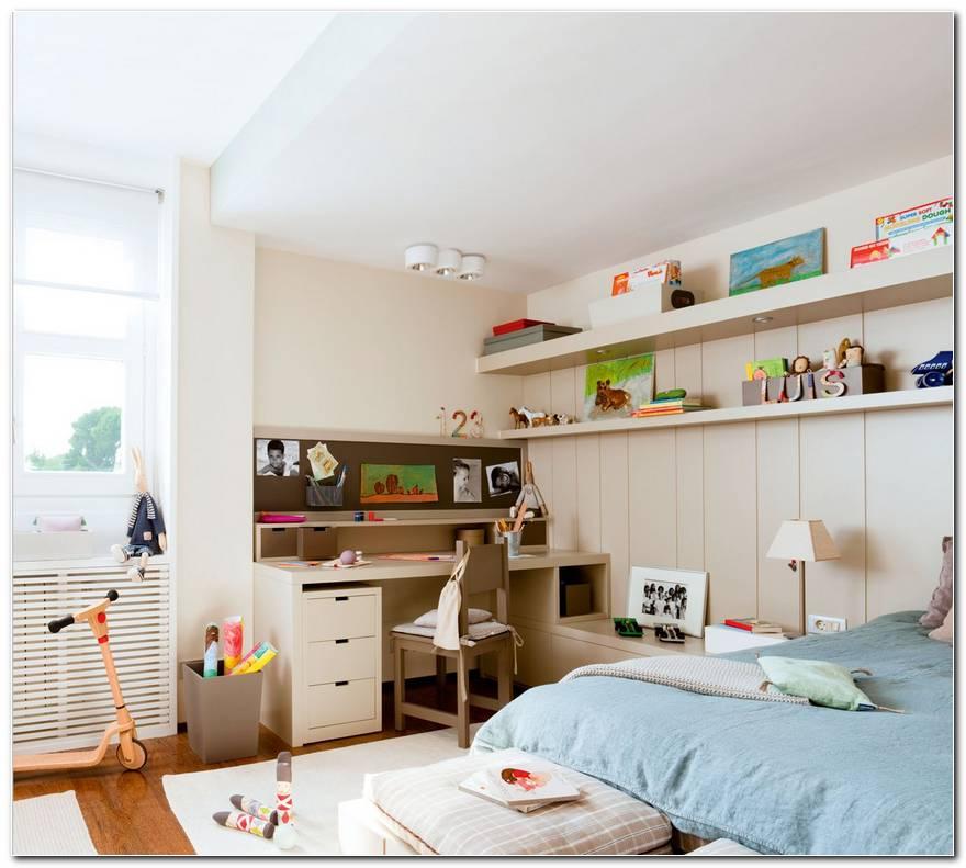 Dormitorio Y Estudio