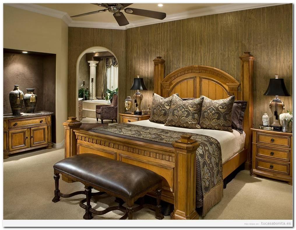 Dormitorios Antiguos De Matrimonio