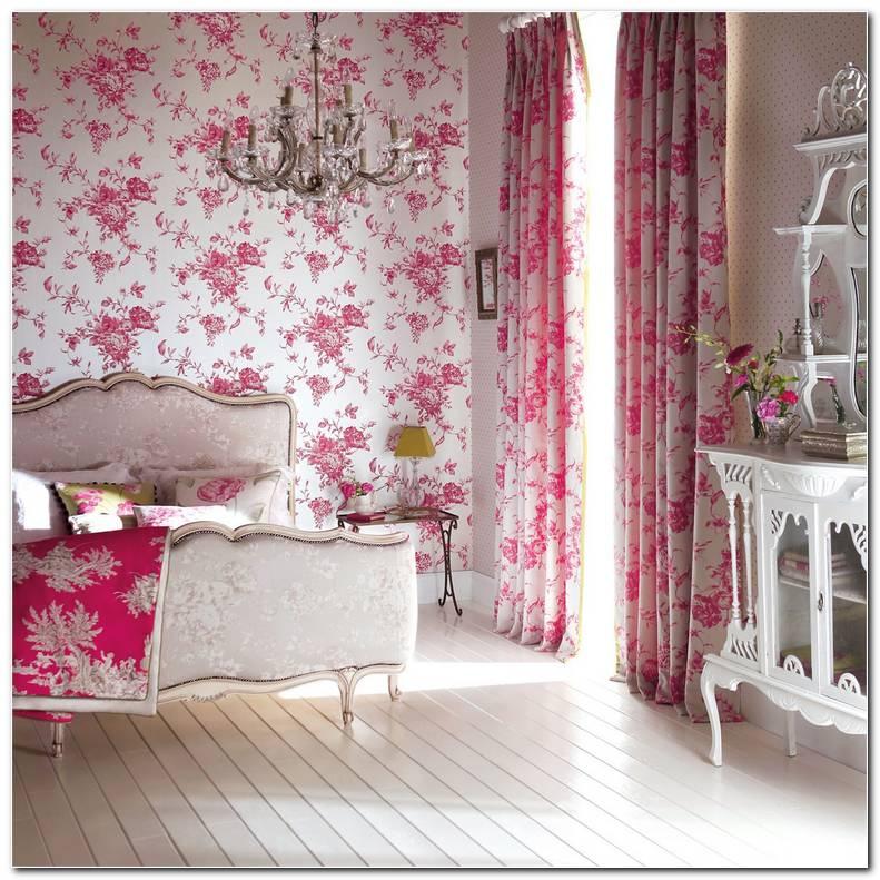 Dormitorios Con Papel Pintado Flores