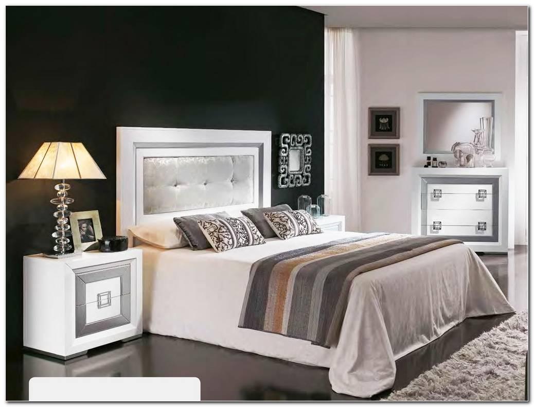 Dormitorios De Matrimonio Blanco Y Plata