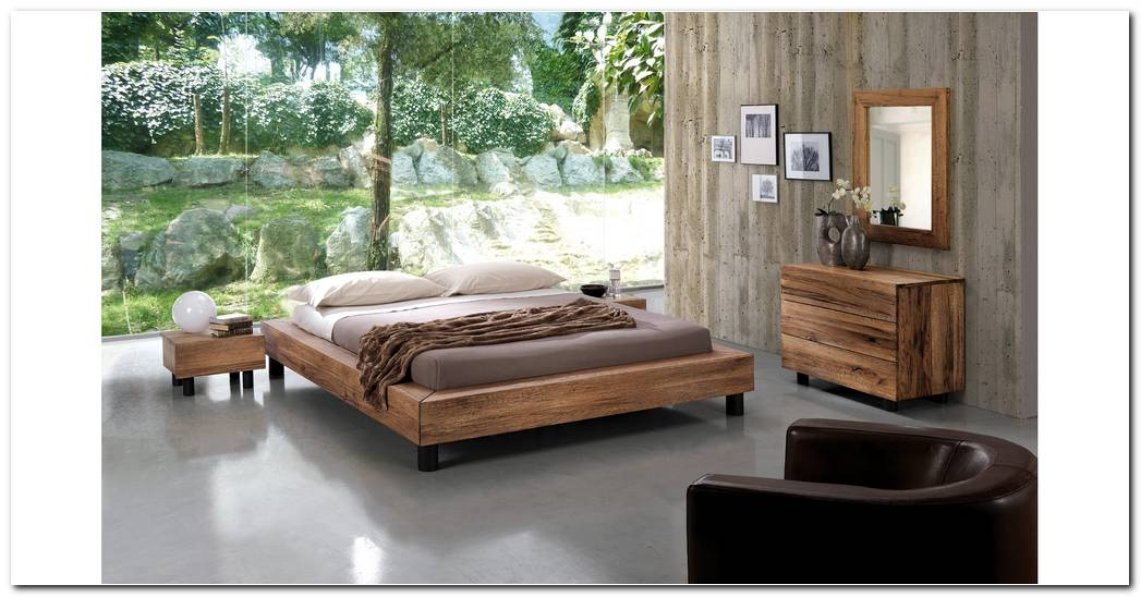 Dormitorios De Roble Macizo