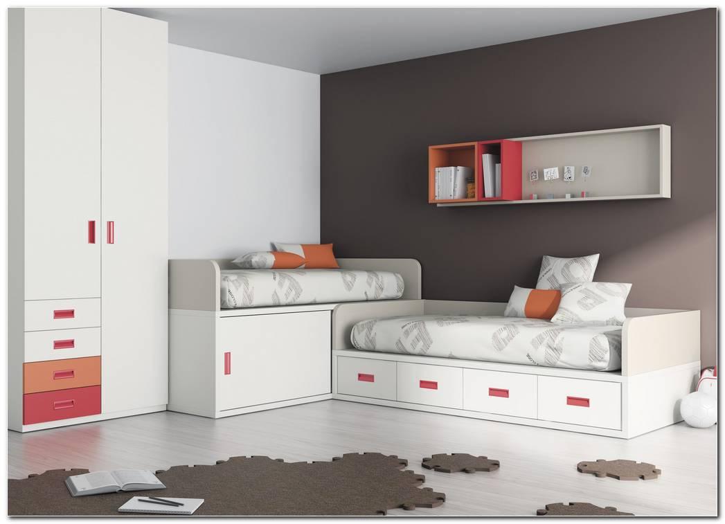 Dormitorios Juveniles Cama Tren