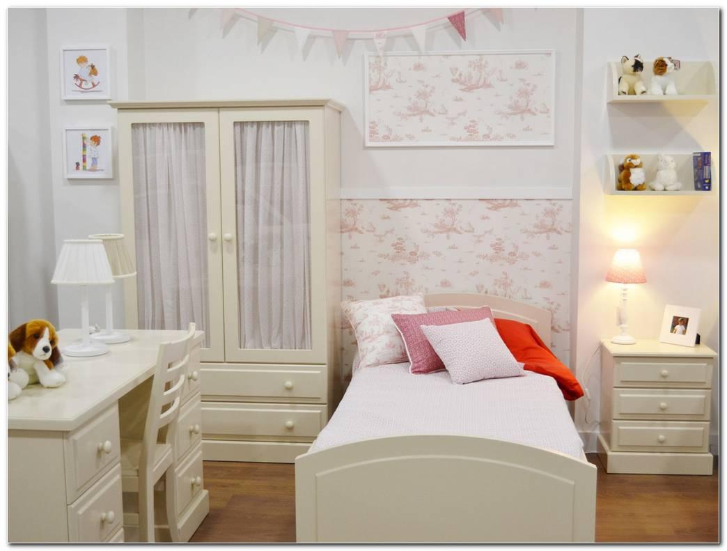 Dormitorios Juveniles Clasicos En Blanco