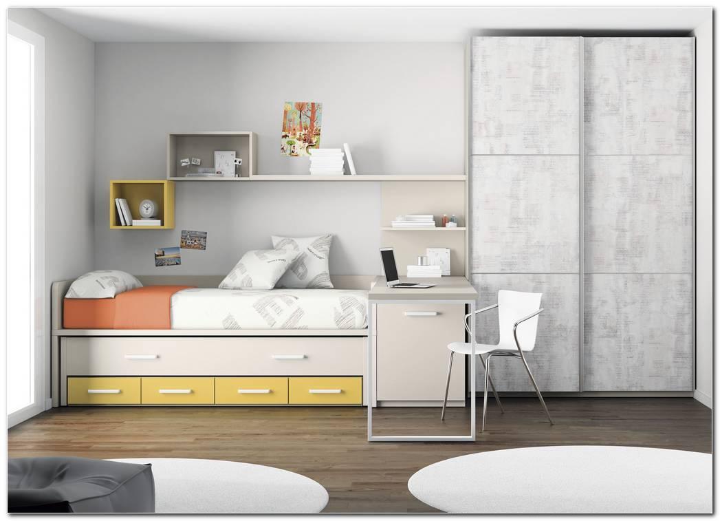 Dormitorios Juveniles Con Armarios De Puertas Correderas