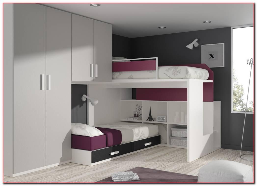 Dormitorios Juveniles Con Camas Elevadas