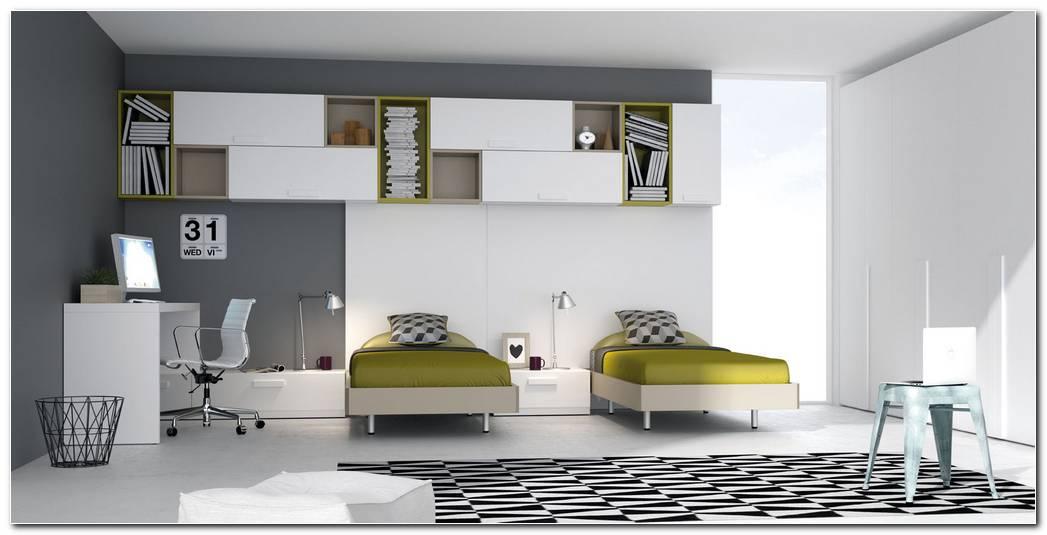 Dormitorios Juveniles Con Dos Camas Individuales
