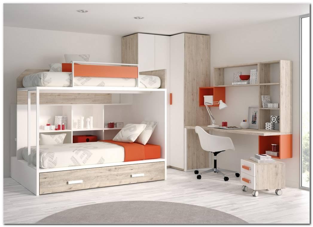Dormitorios Juveniles Con Literas Modernos