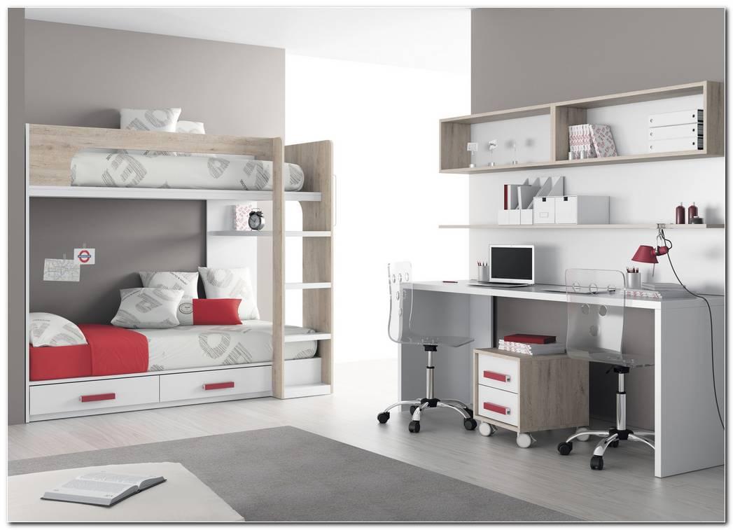 Dormitorios Juveniles Con Mesa De Estudio