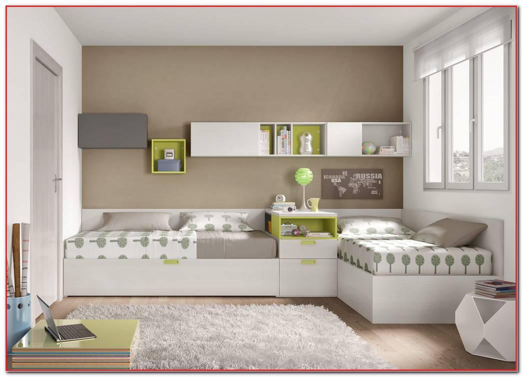 Dormitorios Juveniles De Tres Camas