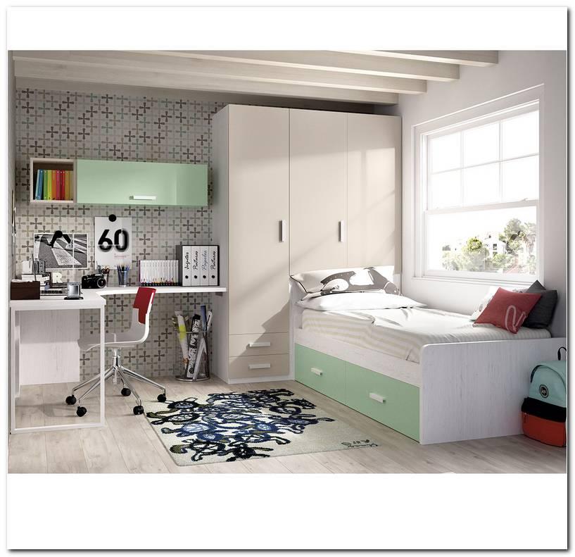 Dormitorios Juveniles En Color Blanco