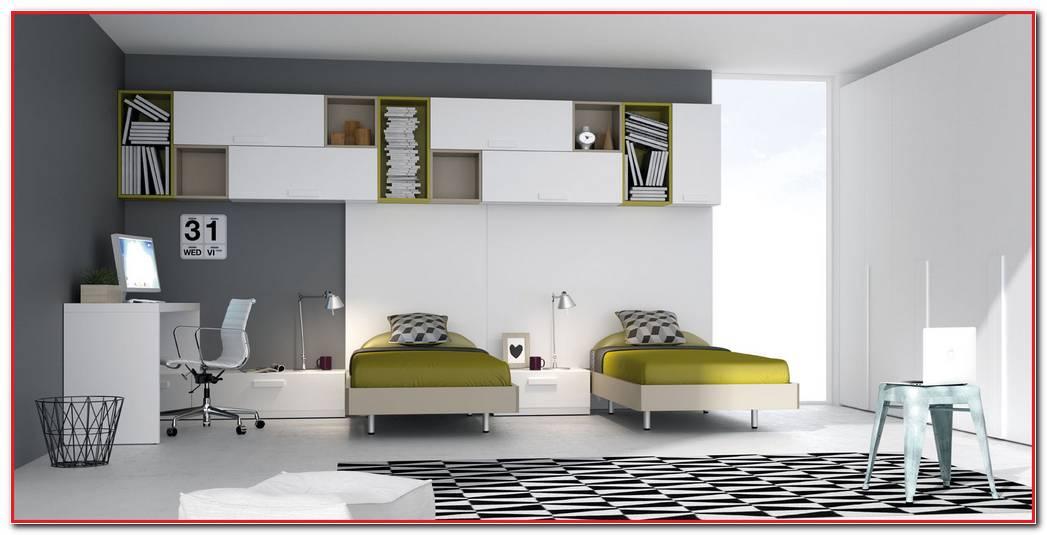 Dormitorios Juveniles Modernos 2 Camas