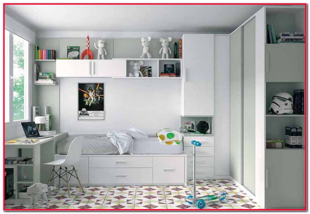 Dormitorios Juveniles Para Espacios Reducidos