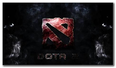 Dota 2 Dark Theme HD Wallpaper