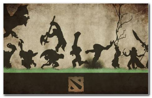 Dota 2 Heroes HD Wallpaper