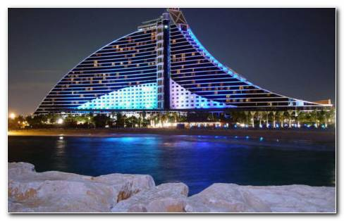 Dubai Hotel Architecture HD Wallpaper