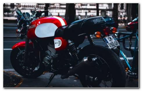 Ducati Monster HD Wallpaper