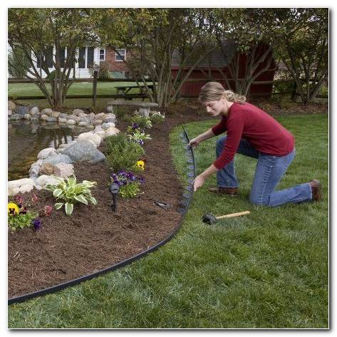 Easyflex 30 Ft Tall Wall No Dig Landscape Edging