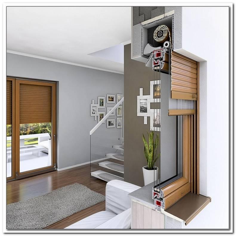 Einbau Fenster Mit Aufsatzrollladen