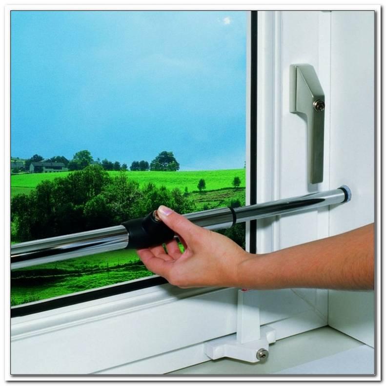 Einbruchschutz Stange Vor Fenster