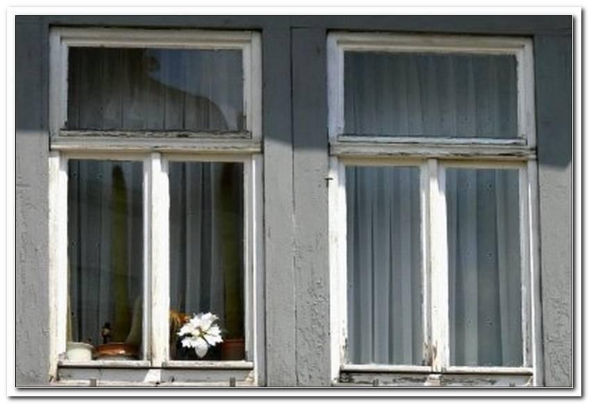 Einfach Verglaste Fenster D?Mmen