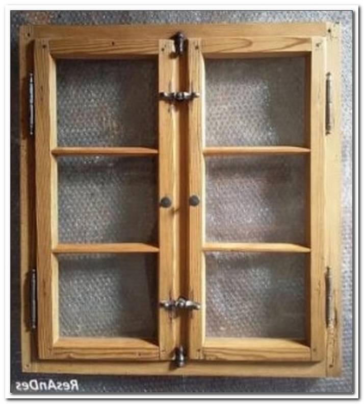 Einfach Verglaste Holzfenster