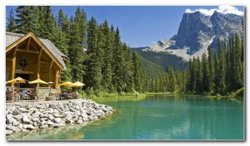 Emerald Lake HD Wallpaper