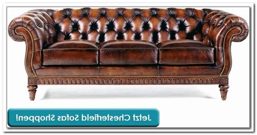Englisches Sofa Leder