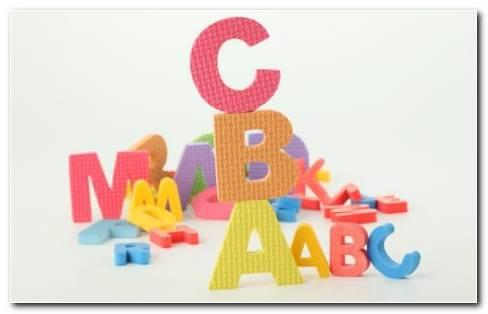 English Alphabet Toys