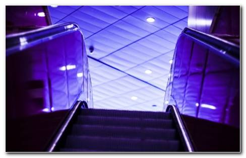Escalator HD Wallpaper