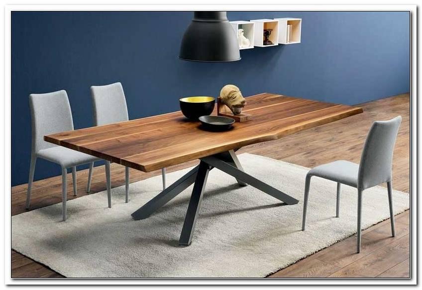 Esszimmer Nussbaum Tisch