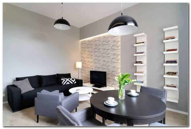 Esszimmer Und Wohnzimmer In Einem Raum