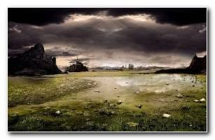 Evil Landscape Wallpaper Widescreen Cool Desktops