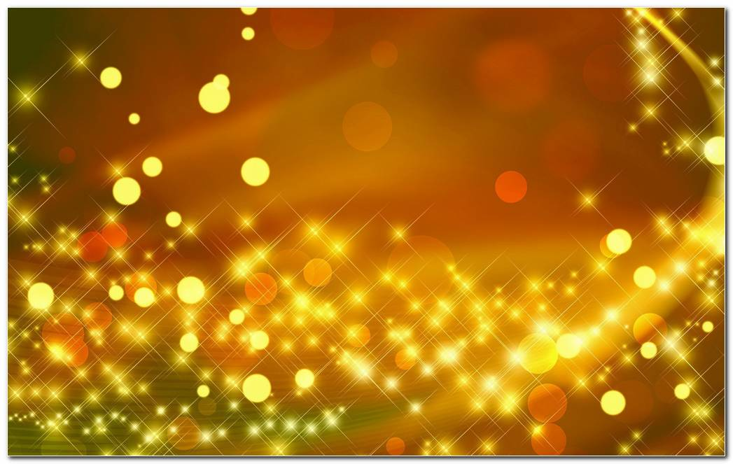 Extra Sparkle Yellow Background Wallpaper