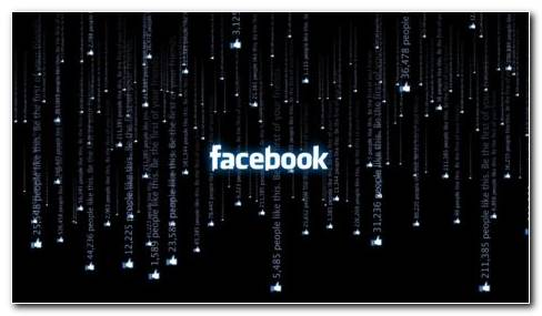 Facebook matrix HD wallpaper