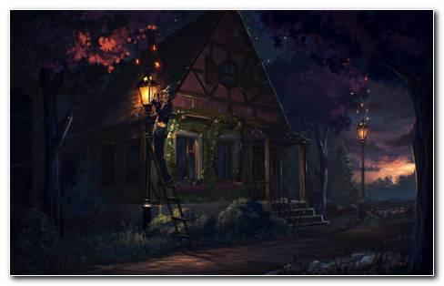 Fairy Tale Architecture HD Wallpaper