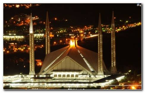 Faisal Mosque Wallpaper