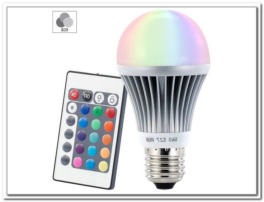 Farbwechselnde Lampe Mit Fernbedienung
