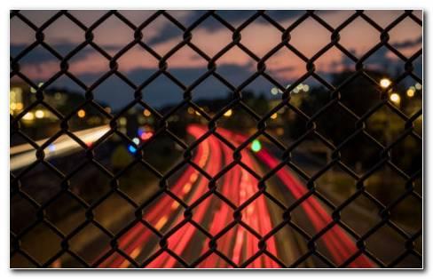 Fence Mesh HD Wallpaper