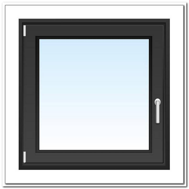 Fenster 100x100 Anthrazit