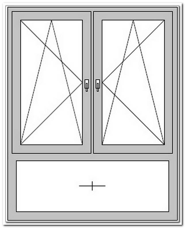 Fenster 2 Fl?Gelig Mit Unterlicht