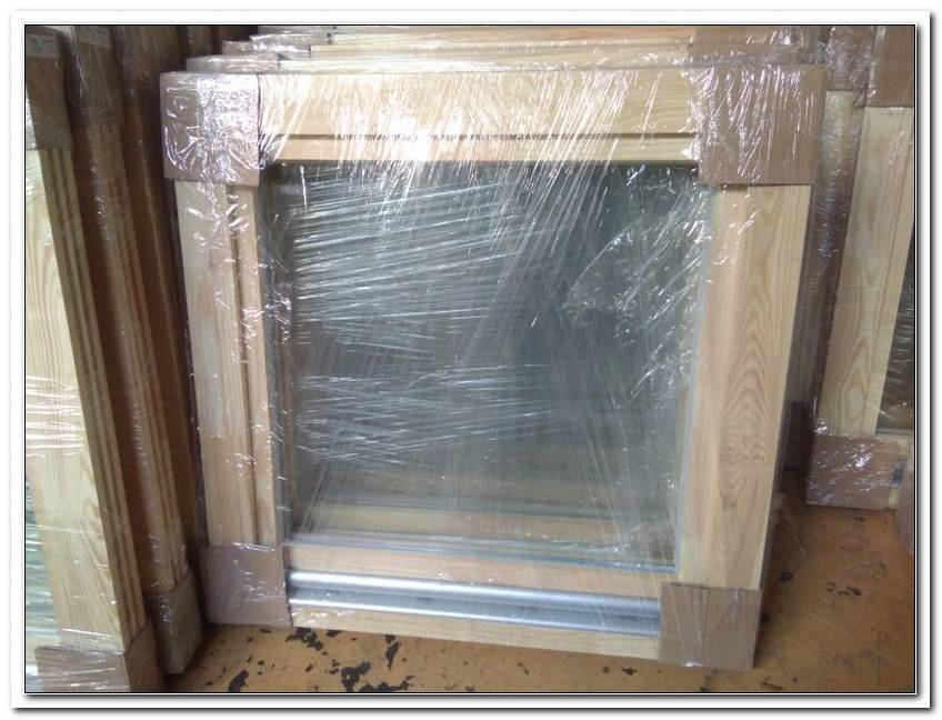 Fenster 90x90 Holz