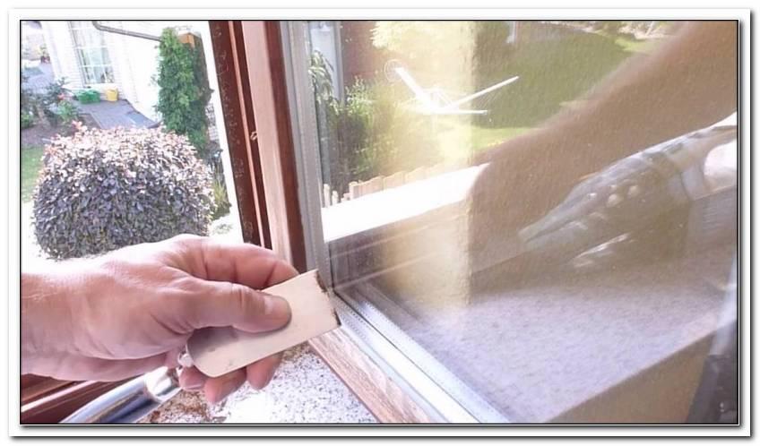 Fenster Abschleifen Und Streichen