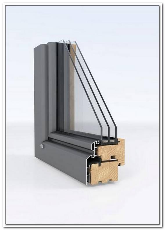 Fenster Aluminium Holz