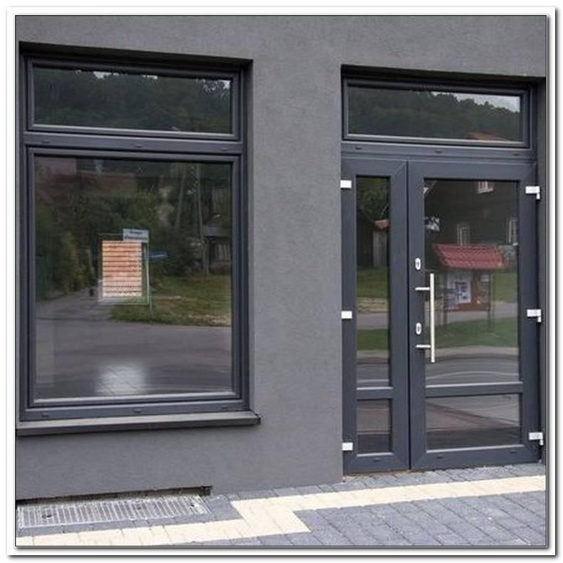 Fenster Anthrazit Kunststoff